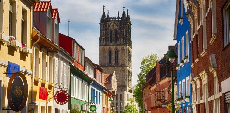 Old Town with Überwasserkirche
